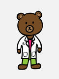Bear pharmacist Stock Photography
