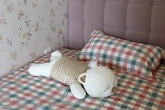 Bear pillow Royalty Free Stock Photo