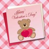 Bear pink Stock Photo