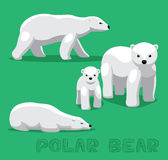 Bear Polar Bear Cartoon Vector Illustration Royalty Free Stock Photos