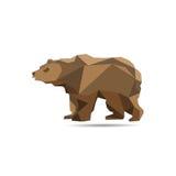 Bear Polygon Royalty Free Stock Photo