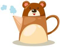 Bear pot Royalty Free Stock Photos