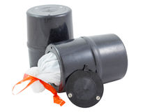 Bear resistant canister.