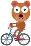 Bear's bike Stock Photo