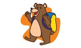 Bear School Stock Image