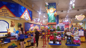 Bear shop Royalty Free Stock Photo
