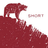 Bear short selling Stock Photos