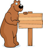 Bear Sign Royalty Free Stock Photos
