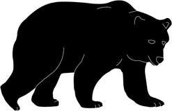 Bear silhouette clip art