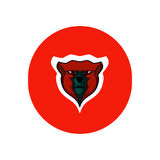 Bear simple icon Royalty Free Stock Photography