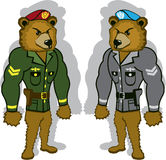 Bear Soldier Stock Photography