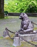 Bear Statue in Bern, Switzerland. Stock Photography