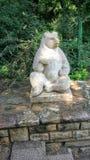 Bear statue. In a park Stock Photos