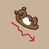 Bear stock market Stock Images