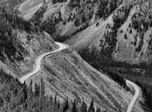Bear Tooth Mountain Pass Montana USA. The Beartooth Highway is an All-American Road on a section of U.S. Route 212 in Montana between Red Lodge and the Wyoming Stock Photo