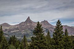 Bear Tooth peak Royalty Free Stock Photography