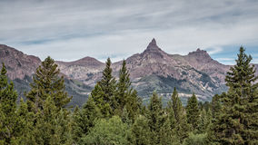 Bear Tooth peak Stock Photo