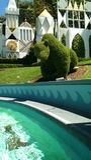 Bear topiary Royalty Free Stock Image