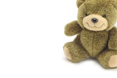 Bear toy background Stock Photography