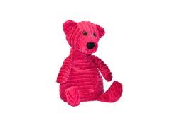 Bear toy. Pink Teddy Bear on white background stock photos