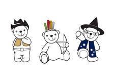 Bear toys 2 Royalty Free Stock Image