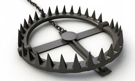 Bear trap Royalty Free Stock Images