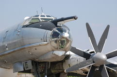 Bear. TU-95 Stock Photos