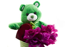 Bear for Valentines Day Royalty Free Stock Photography