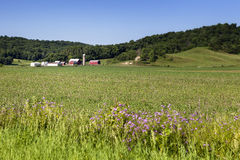 Bear Valley Farm. A farmstead in Bear Valley, Wisconsin Stock Photo