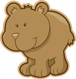 Bear Vector Illustration Royalty Free Stock Photography