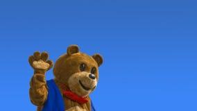 Bear Waving Royalty Free Stock Image