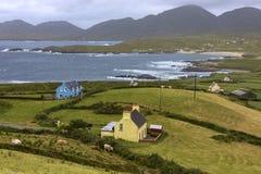 Полуостров Beara - Ирландская Республика Стоковые Изображения RF