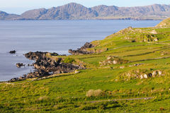 Beara peninsula irish landscape Royalty Free Stock Photos