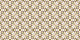 Bearbeiten Sie die roten und gelben Farben, die in einem dekorativen Muster mit Sternen, Kreise, Quadrate auf einem weißen backgr lizenzfreies stockbild