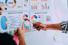 Bearbeiten Sie Schreibtische, Arbeitsplätze, Geschäft und industrielle Arbeit Teamwork ist ein großes Team von erfolgreichen Gesc stockfotos