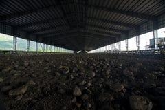 Bearbeta i kolgruva Royaltyfri Fotografi