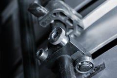 Bearbetar maskinen för offset- printing arkivbilder