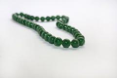 Beard. Close up photo of gras beads Stock Photo
