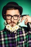 Beard addicted Stock Images