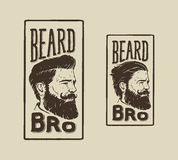 Beard Bro Stock Image