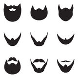 Beard Icons Stock Image