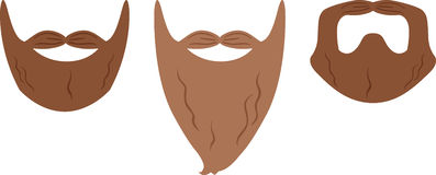 Beard Styles Royalty Free Stock Images