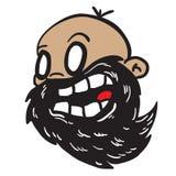 Bearded bald man Royalty Free Stock Image