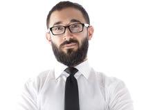 Bearded Businessman Royalty Free Stock Photography