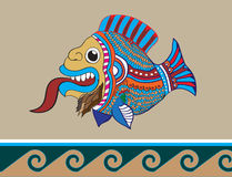 Bearded fish Royalty Free Stock Image