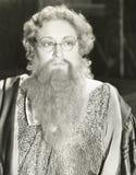 Bearded lady stock images