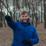 bearded man όμορφο πορτρέτο φωτογραφιών ατόμων μαύρων ανασκόπησης Στοκ Φωτογραφία