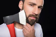 bearded man Στοκ Φωτογραφίες