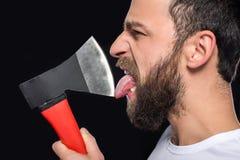 bearded man Στοκ Εικόνα