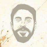 bearded man Στοκ Εικόνες